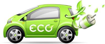 Le chargeur de la voiture électrique verte est étudié en CAP électricien à Kahani.